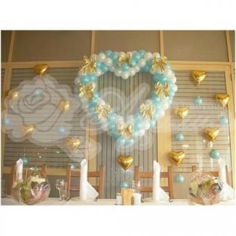 Оформление шарами на свадьбу «Комплект № 20»