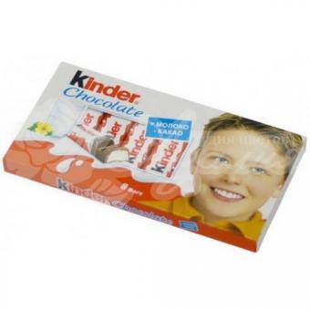 Киндер шоколад поштучно