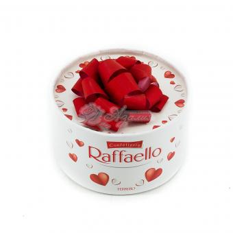 """Конфеты """" Raffaello """" круглая коробка"""