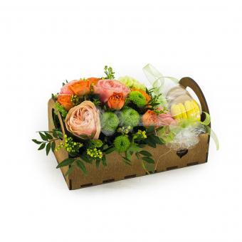 Печеньки с цветами