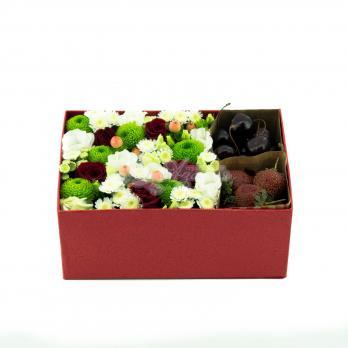 Коробочка цветочно-фруктового счастья