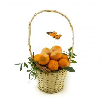 Корзина мандарин